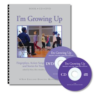 I'm Growing UP book cd dvd