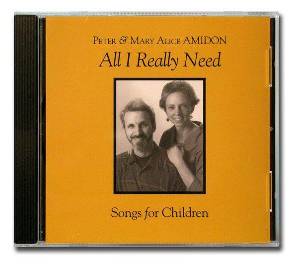 All I Really Need cd cover